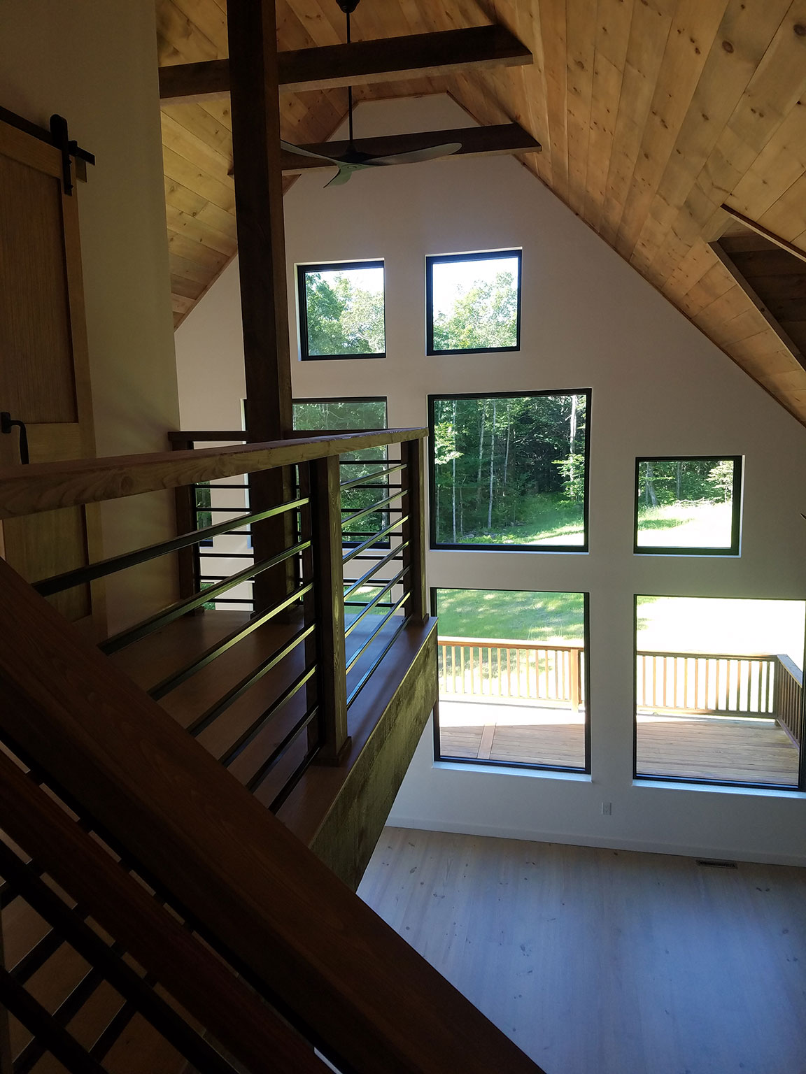 2nd Floor: Looking Out