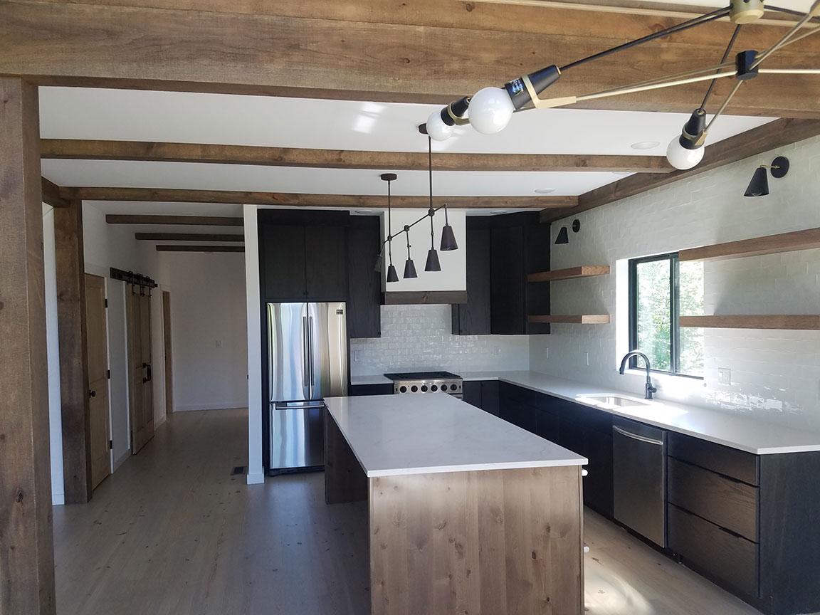 Kitchen View: Island